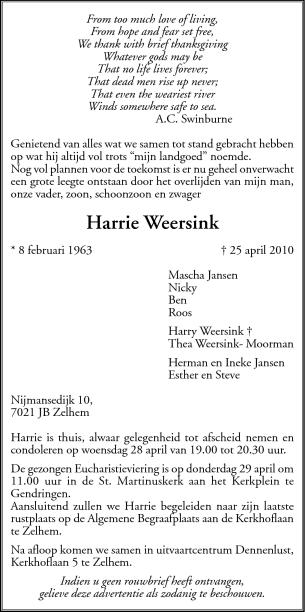 Overlijdensbericht_harrie
