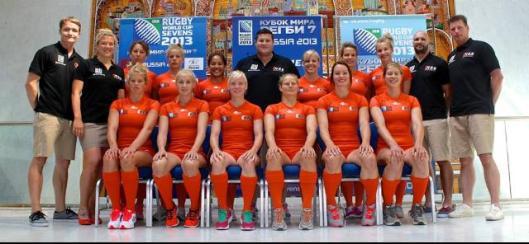 Volg onze dames live in Moskou voor het WK Sevens