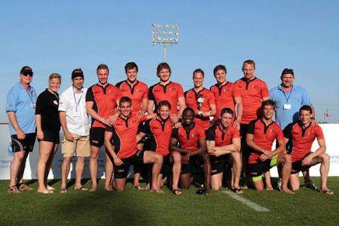 Heren Sevens 3de in Israel